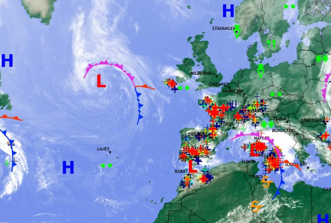 Weather chart 2 May 2011