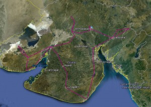 gujarat route