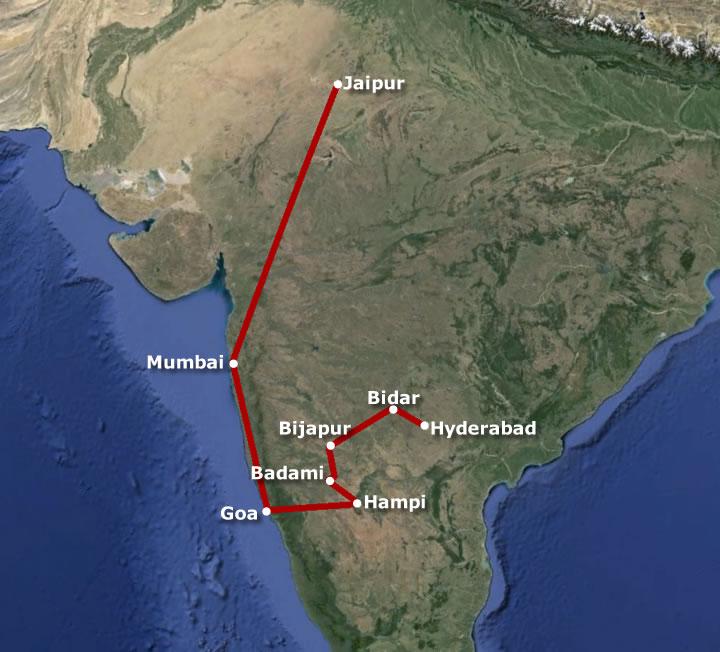 india-route