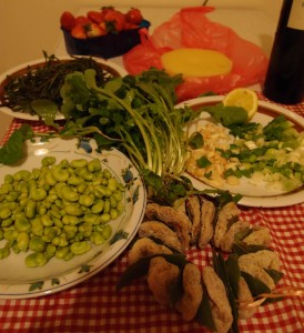 Farmer's food in Dubrovnik