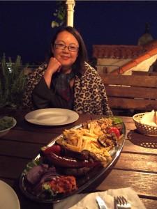 Grilled meat in Dubrovnik